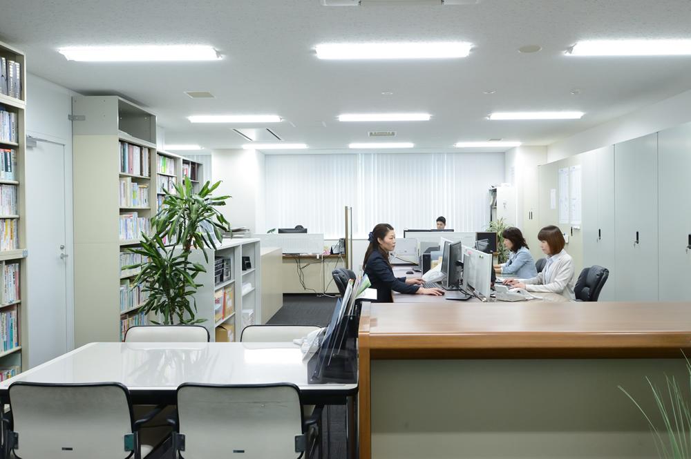 事務所風景 設定を表示